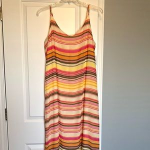 902582422d8 NWOT Old Navy Striped Sleeveless Maxi Dress